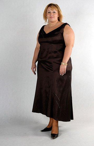 Suknia dla puszystej
